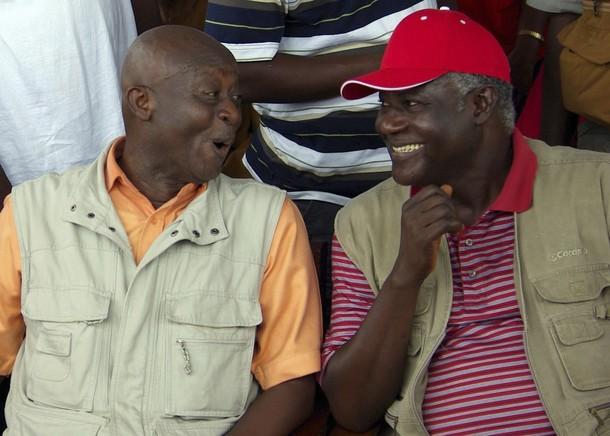 Charles Margai and Ernest Koroma
