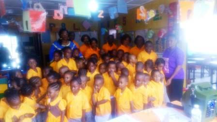 excel daycare celebrates world water day sierra express media