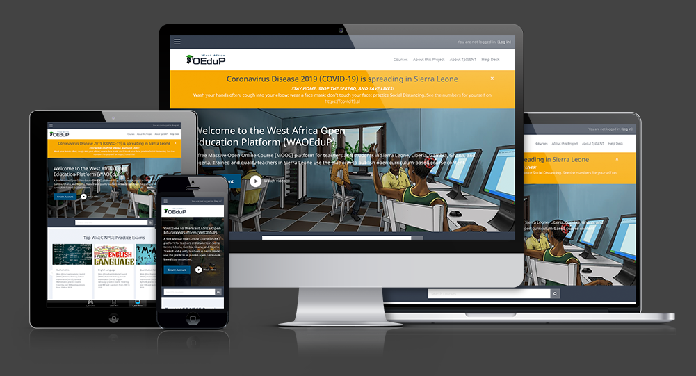 West African Open Education Platform